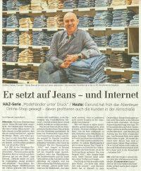 HAZ-Artikel über Eierund Hildesheim