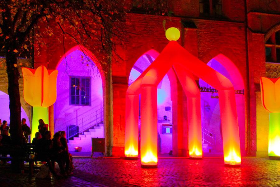 Die Light Night in Hildesheim ist ein ganz besonderes Erlebnis!