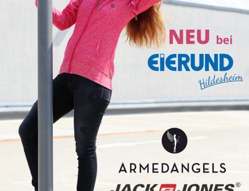 Trendige Ökomode, sportliche Looks und Fashion für echte Kerle: drei neue Marken bei Eierund Hildesheim!