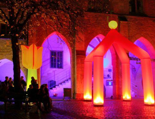 Hildesheim in ganz neuem Licht beim Light Night Shopping