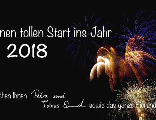 Ein Prosit auf's neue Jahr!