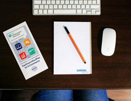 Ausbildung mit besten Zukunftsperspektiven: Kaufmann/-frau im E-Commerce