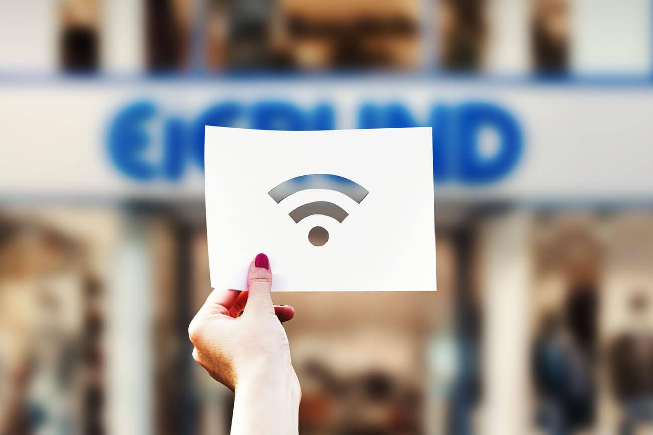 Nutzt unser kostenloses Internet!