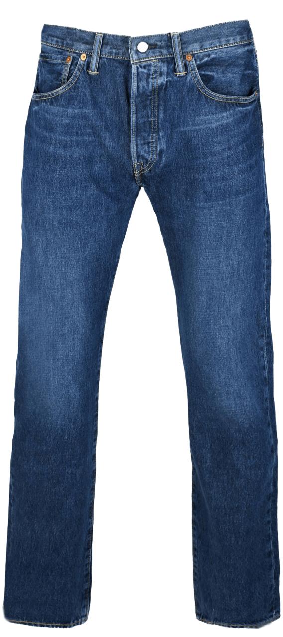 Levis 501 Bluewash Vorne