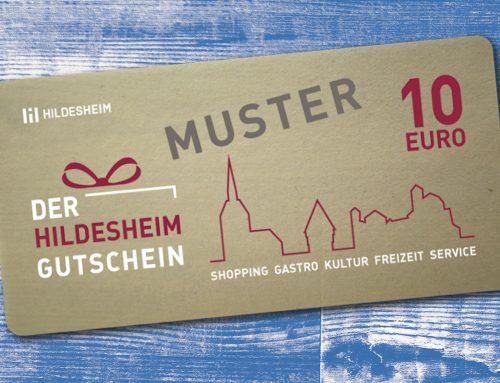 Der Hildesheim Gutschein – Wir machen mit!