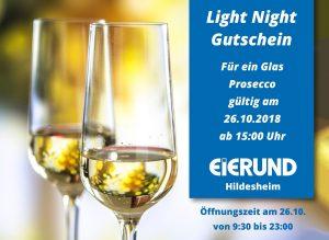 Light Night Shopping Hildsheim 2018 Gutschein