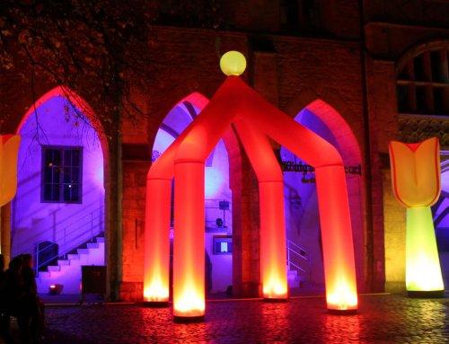 Hildesheim leuchtet wieder- Light Night Shopping 2019