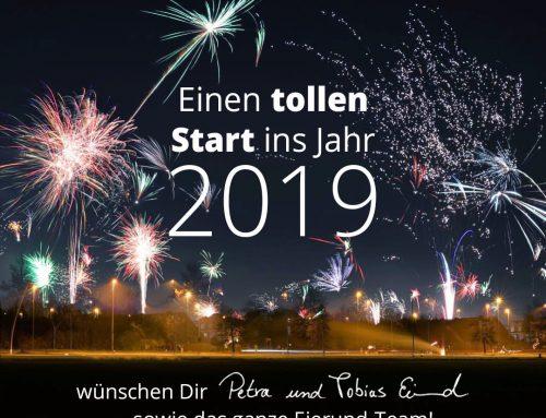 Einen tollen Start in das neue Jahr