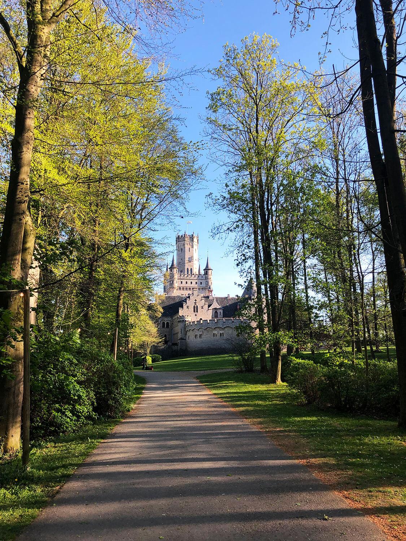 Das Schloss Marienburg