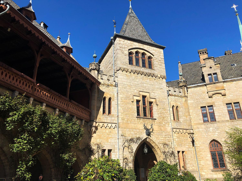 Der Schloss-Innenhof