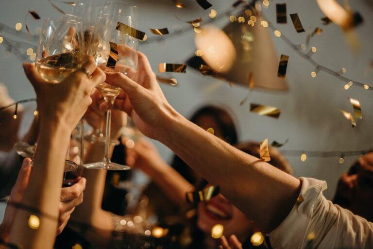 Auf das neue Jahr!