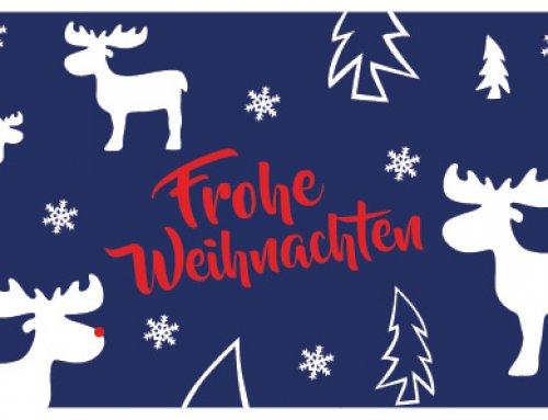 Wir wünschen euch fröhliche Weihnachten!