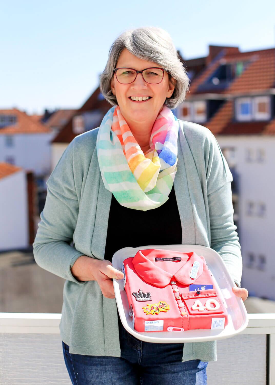 Gabriele Quittau arbeitet seit 40 Jahren für Eierund