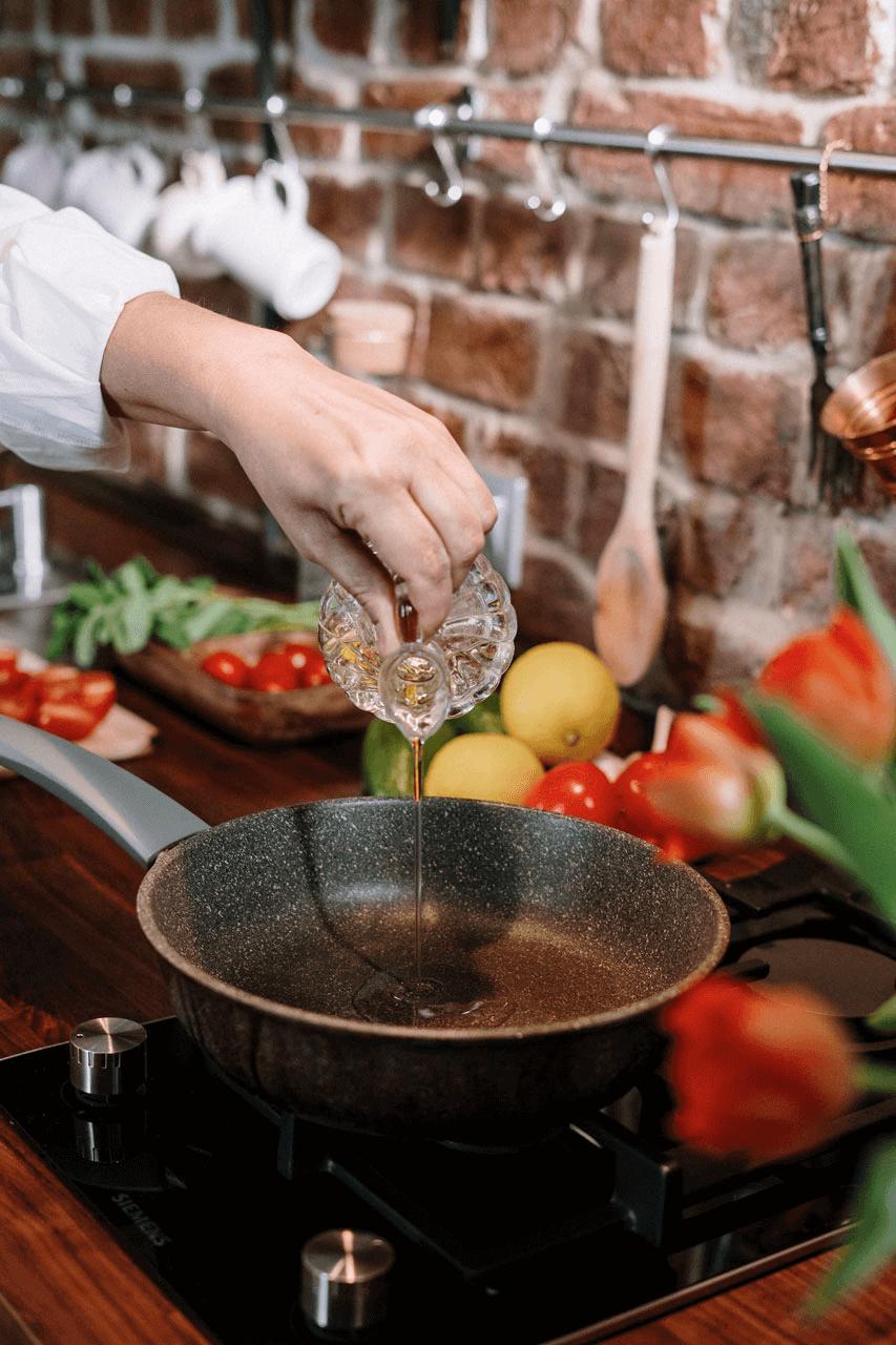 Flecken bleiben beim Kochen häufig nicht aus
