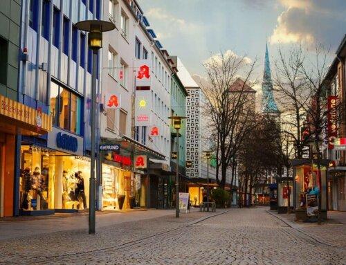 Hildesheimer Fußgängerzone: das Herz der Stadt