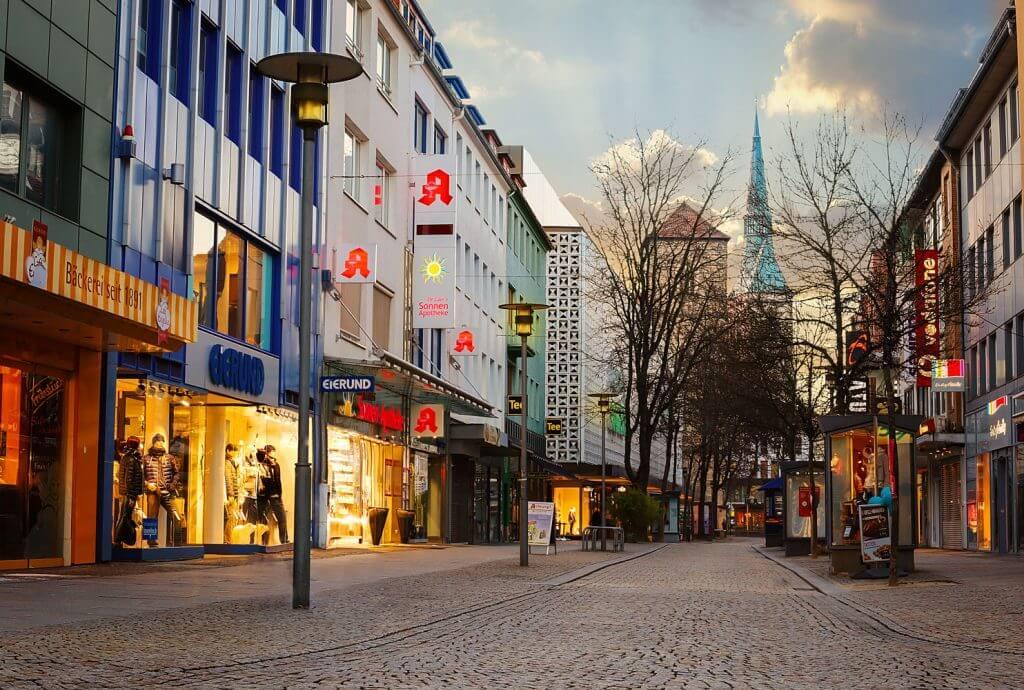 Hildesheimer Fußgängerzone