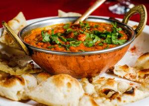 Essen im India Haus Hildesheim