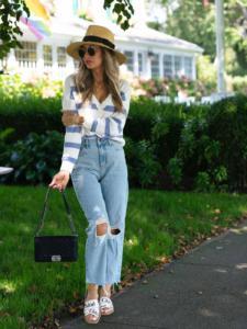 Outfit zu Sandalen
