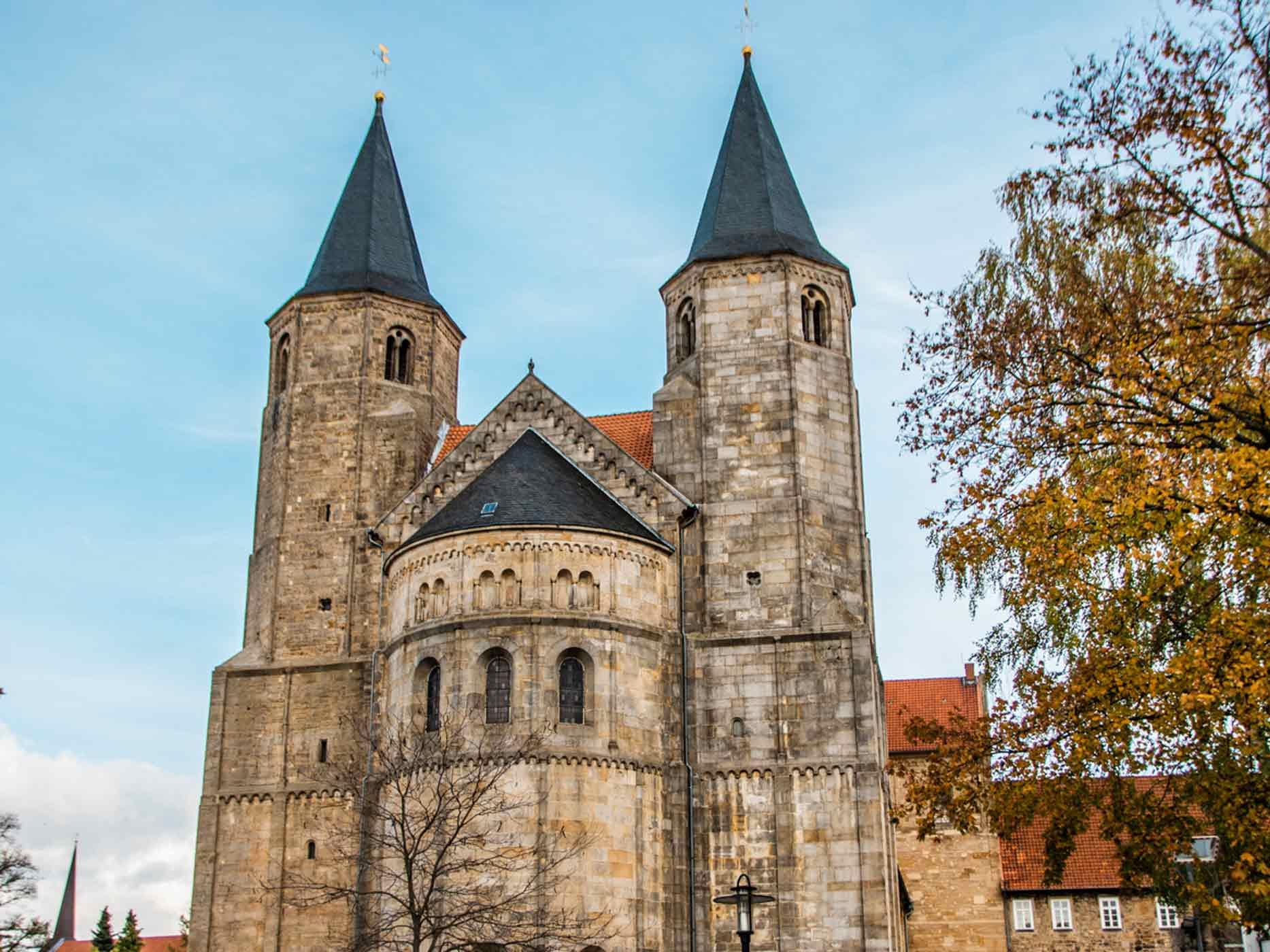 Die St. Godehard Kirche in Hildesheim